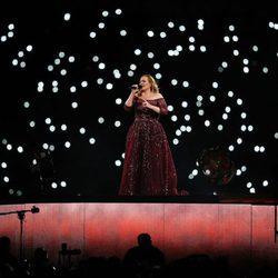 Adele durante su concierto en Sydney