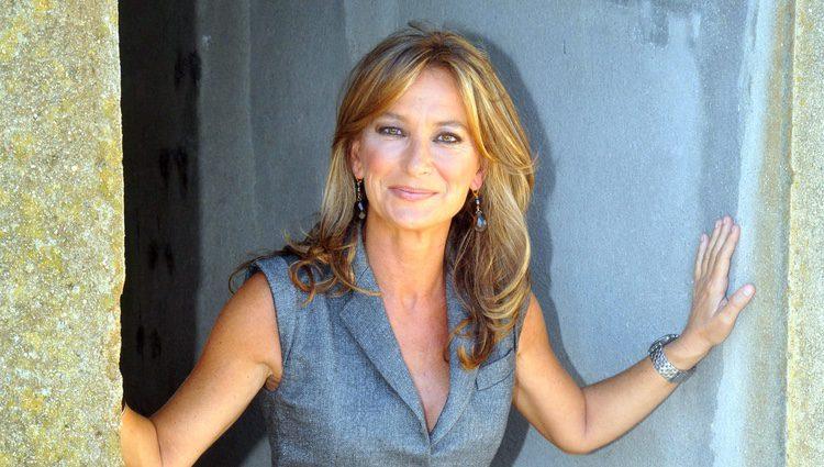 Patricia Gaztañaga en la presentación de 'El Marco'