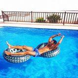 Yera Fontes ('MyHyV') en bañador