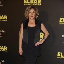 Carmen Machi en la presentación de la película 'El Bar' en los cines Callao de Madrid