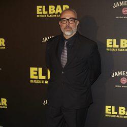 Álex de la Iglesia en la presentación de la película 'El Bar' en los cines Callao de Madrid