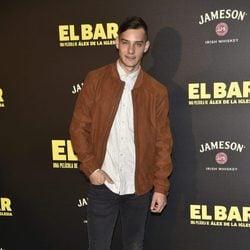 Joel Bosqued en la presentación de la película 'El Bar' en los cines Callao de Madrid