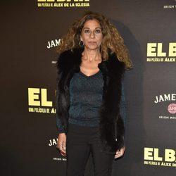 Lolita Flores en la presentación de la película 'El Bar' en los cines Callao de Madrid