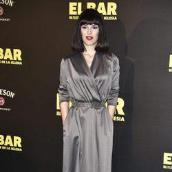 Sara Vega en la presentación de la película 'El Bar' en los cines Callao de Madrid