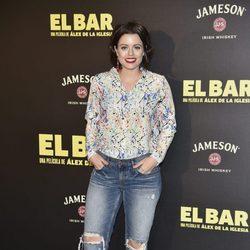 Adriana Torrebejano en la presentación de la película 'El Bar' en los cines Callao de Madrid