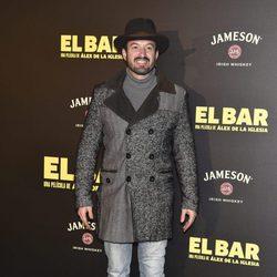 Álex Odogherty en la presentación de la película 'El Bar' en los cines Callao de Madrid