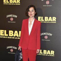 Nadia de Santiago en la presentación de la película 'El Bar' en los cines Callao de Madrid