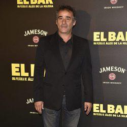 Eduard Fernández en la presentación de la película 'El Bar' en los cines Callao de Madrid