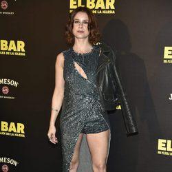 Manuela Vellés en la presentación de la película 'El Bar' en los cines Callao de Madrid