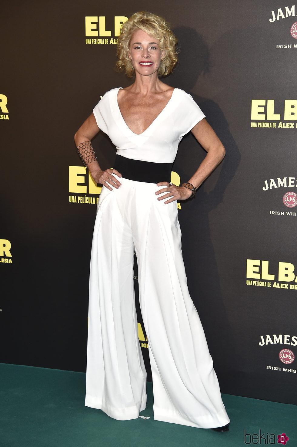Belén Rueda en la presentación de la película 'El Bar' en los cines Callao de Madrid