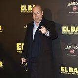 Antonio Resines en la presentación de la película 'El Bar' en los cines Callao de Madrid