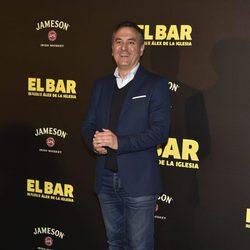 Roberto Brasero en la presentación de la película 'El Bar' en los cines Callao de Madrid