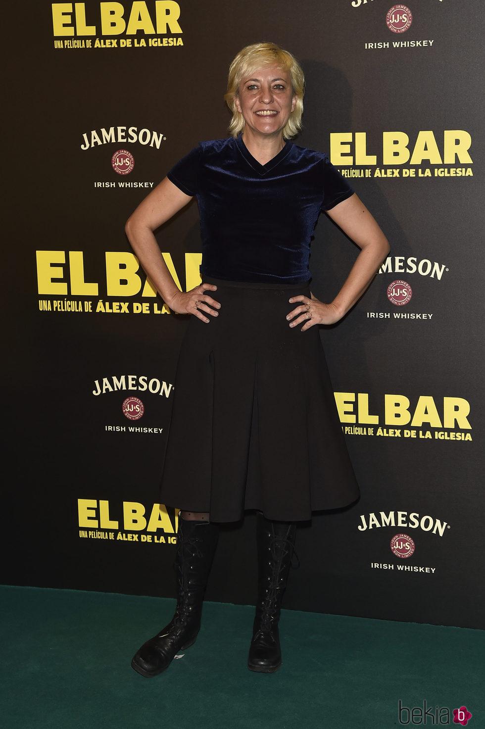 Eva Hache en la presentación de la película 'El Bar' en los cines Callao de Madrid