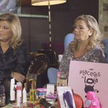 Carmen Borrego, Terelu campos e Ivonne Reyes en un tupper sex en 'Las Campos'