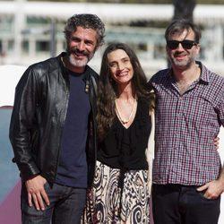 Leonardo Sbaraglia, Daniel Hendler y Ángela Molina en el Festival de Málaga 2017
