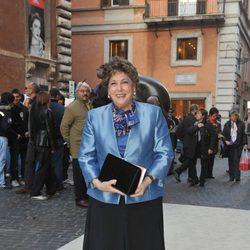 Paloma Gómez Borrero en una boda