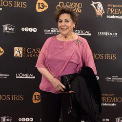 Paloma Gómez Borrero en los Premios Iris 2016