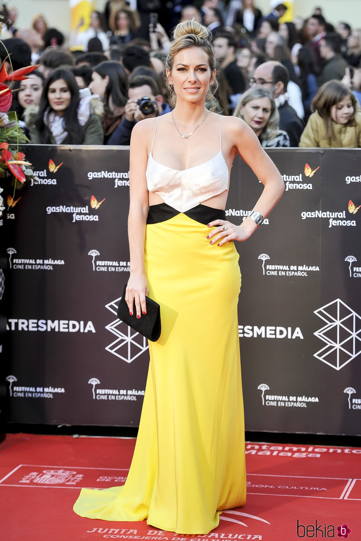 Kira Miró en la gala de clausura del Festival de Cine de Málaga 2017