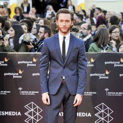 Pablo Rivero en la gala de clausura del Festival de Cine de Málaga