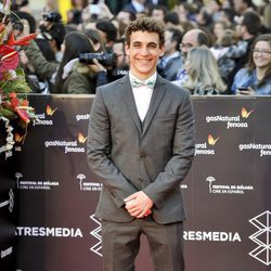 Miguel Herrán en la gala de clausura del Festival de Cine de Málaga