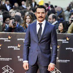 Antonio Velázquez en la gala de clausura del Festival de Cine de Málaga