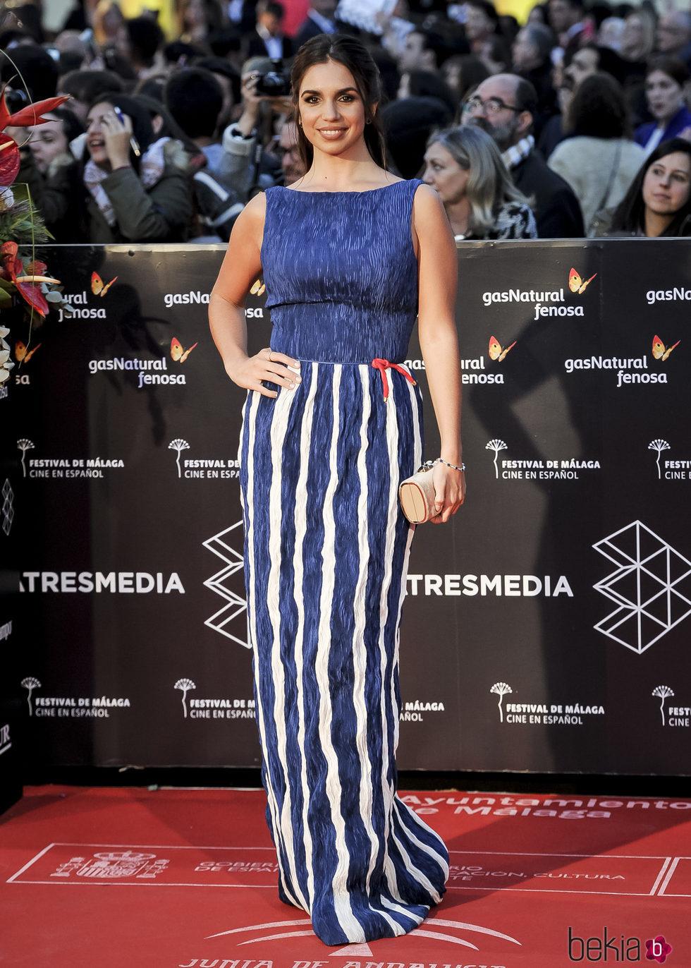 Elena Furiase en la gala de clausura del Festival de Cine de Málaga