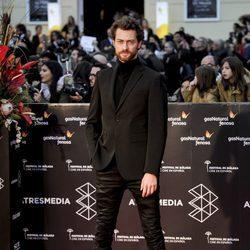 Peter Vives en la gala de clausura del Festival de Cine de Málaga