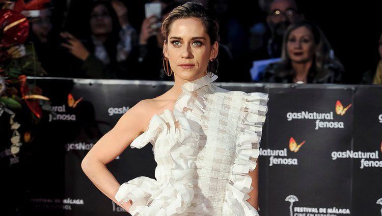 María León en la gala de clausura del Festival de Cine de Málaga