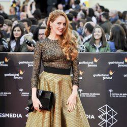 María Castro en la gala de clausura del Festival de Cine de Málaga