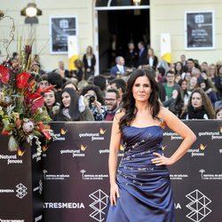 Diana Navarro en la gala de clausura del Festival de Cine de Málaga