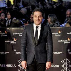 Daniel Guzmán en la gala de clausura del Festival de Cine de Málaga