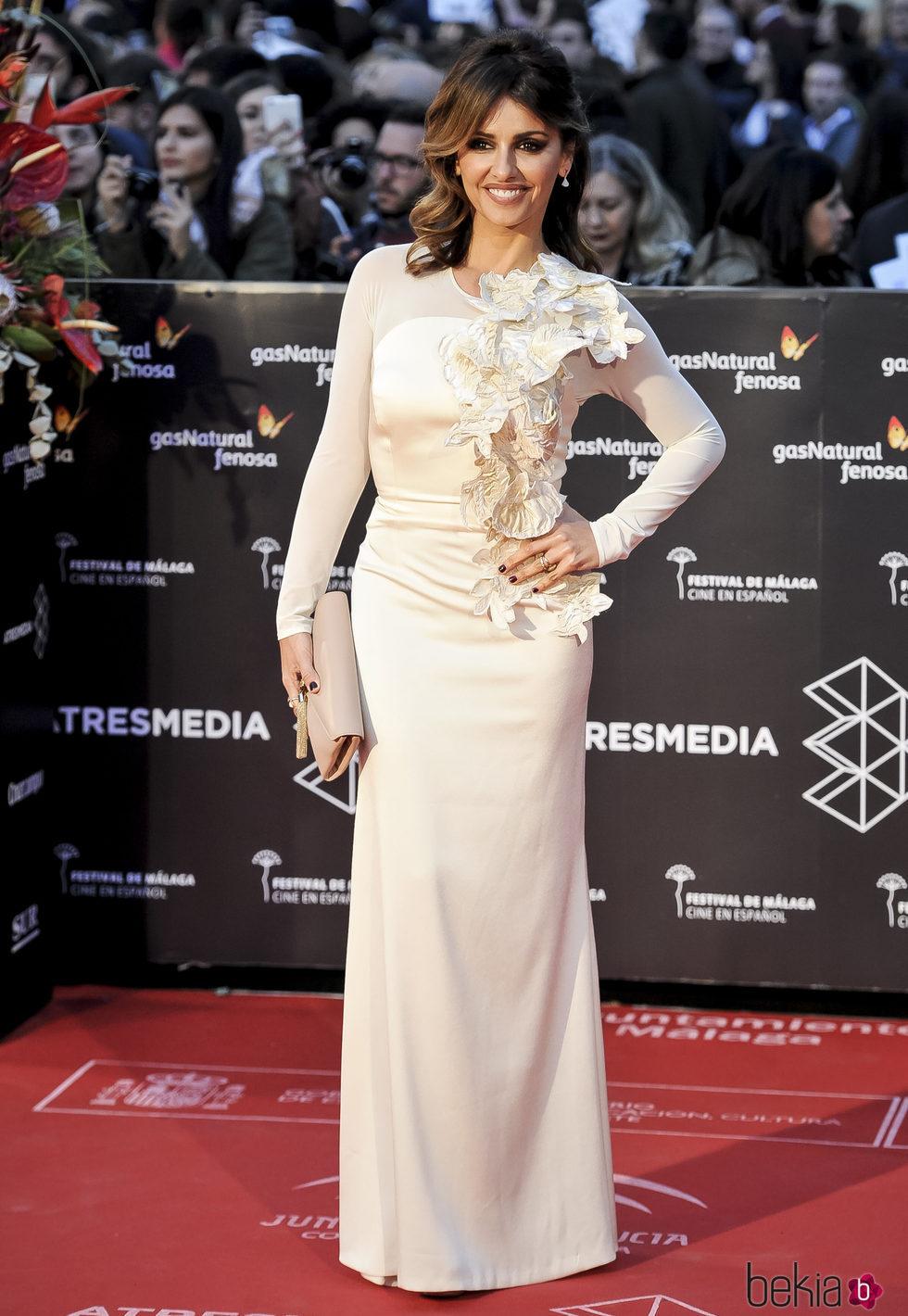Mónica Cruz en la gala de clausura del Festival de Cine de Málaga