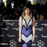 Natalia de Molina en la gala de clausura del Festival de Cine de Málaga