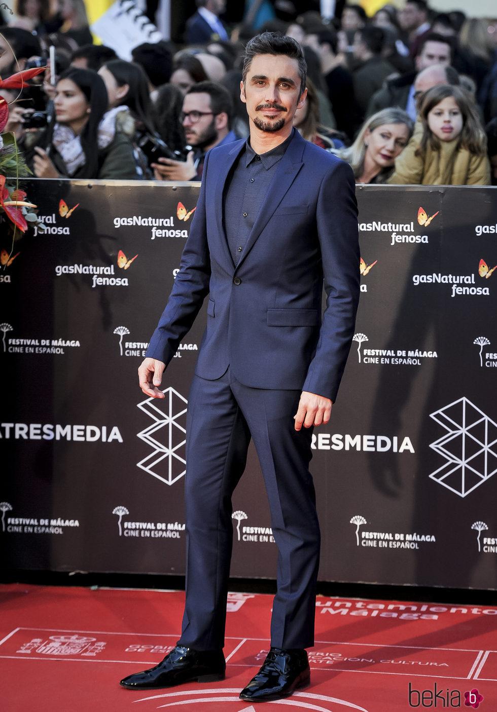 Canco Rodríguez en la gala de clausura del Festival de Cine de Málaga