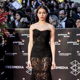 Hiba Abouk en la gala de clausura del Festival de Cine de Málaga