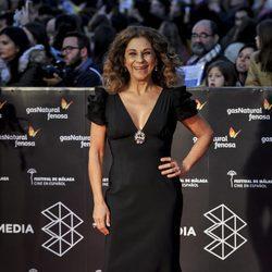 Lolita en la gala de clausura del Festival de Cine de Málaga