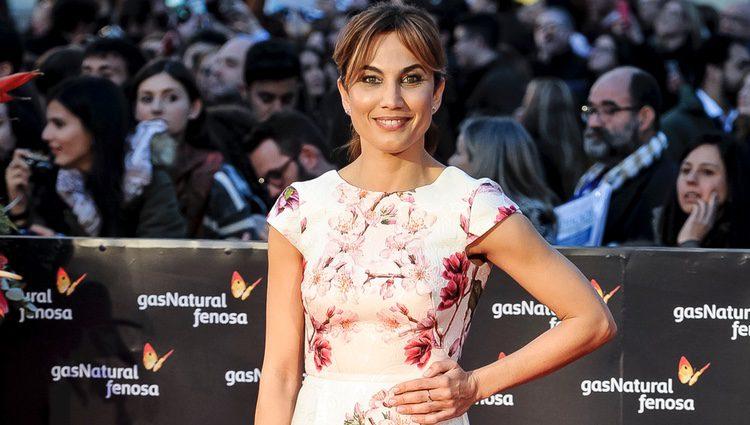 Toni Acosta en la gala de clausura del Festival de Cine de Málaga