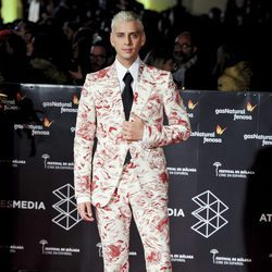 Eduardo Casanova en la gala de clausura del Festival de Cine de Málaga
