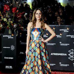 Silivia Alonso en la gala de clausura del Festival de Cine de Málaga