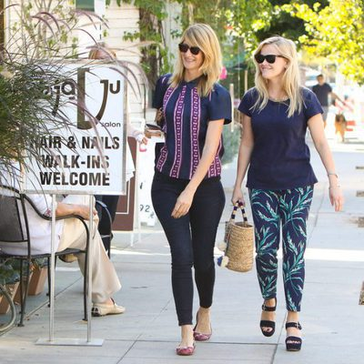 Laura Dern junto a Reese Witherspoon