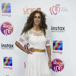 Rosario Flores en la alfombra roja de la noche de Cadena 100