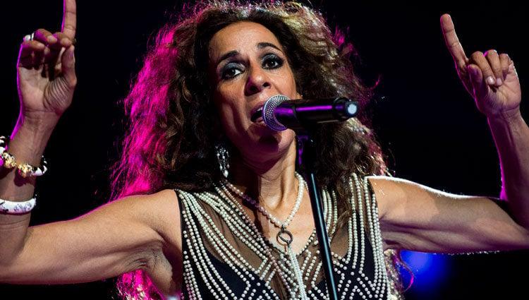 Rosario Flores en el concierto de la noche de Cadena 100