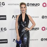 Katy Perry en la fiesta del 70 cumpleaños de Elton John
