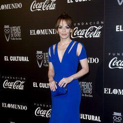 María Adánez en la alfombra roja de los Premios Valle Inclán de Teatro