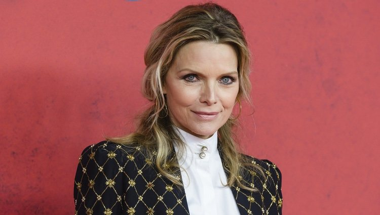 Michelle Pfeiffer en la premiere de 'The Family'