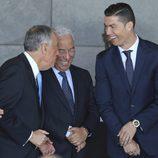 Cristiano Ronaldo, feliz porque tiene un aeropuerto en Madeira con su nombre