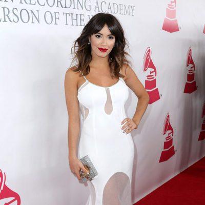Lali Espósito en el Premio Persona del Año de los Grammy Latinos 2015