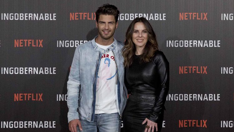 Maxi Iglesias y Kate del Castillo en la presentación de 'Ingobernable' en Madrid