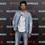 Maxi Iglesias en la presentación de 'Ingobernable' en Madrid