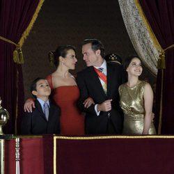 El presidente de México y la Primera Dama con sus hijos en 'Ingobernable'
